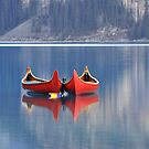 Red Canoes by Kasia Nowak