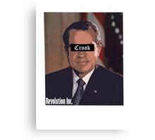 Richard Nixon Canvas Print