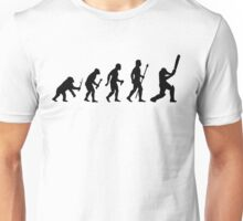 Funny Born To Play Cricket Evolution Shirt Unisex T-Shirt