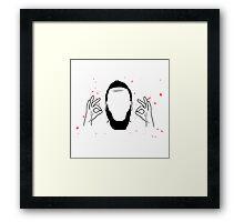 James Harden Perfection Framed Print
