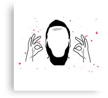 James Harden Perfection Canvas Print