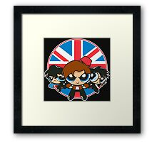 Powerpuff Brits Framed Print