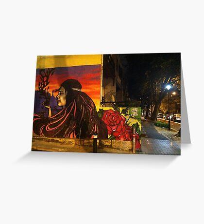 Surry Hills graffiti, Australia Greeting Card
