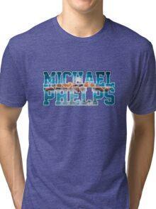 michael phelps Tri-blend T-Shirt