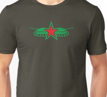 GREEN ARMY tank with military stars Unisex T-Shirt