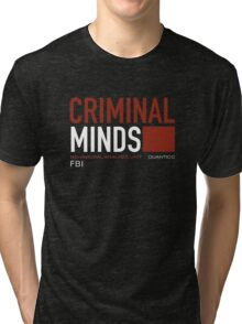 criminal minds Tri-blend T-Shirt
