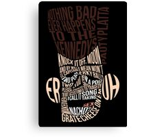 Catchphrase Comp-er-uh-lation Canvas Print