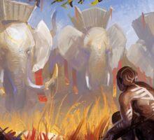 World of Warcraft Art Sticker