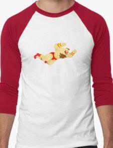 Zangief Minimal  Men's Baseball ¾ T-Shirt