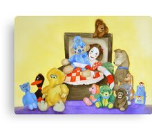 Mime in ToyBox Canvas Print