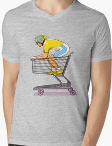 Retail Racer Mens V-Neck T-Shirt