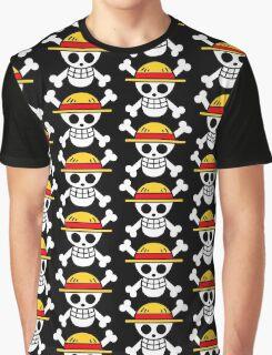 Luffy Logo Graphic T-Shirt