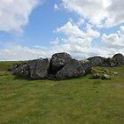 Hilltop Rocks near Callanish, Outer Hebrides, Scotland by MidnightMelody