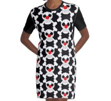 Buggy Logo Graphic T-Shirt Dress