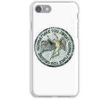 ICARUS THROWS THE HORNS - sweat and groove NEW DESIGN iPhone Case/Skin