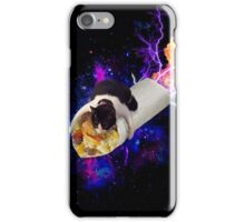 Breakfast Burrito Space Cat! iPhone Case/Skin