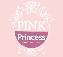 Pretty In Pink Cute Girly Pink Princess  Kids Tee