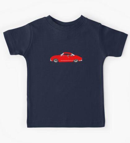 Red Karmann Ghia Kids Tee