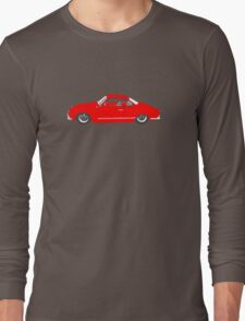Red Karmann Ghia Long Sleeve T-Shirt