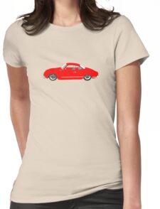 Red Karmann Ghia Womens Fitted T-Shirt