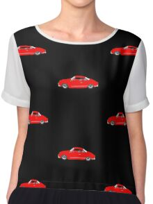 Red Karmann Ghia Chiffon Top