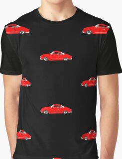 Red Karmann Ghia Graphic T-Shirt