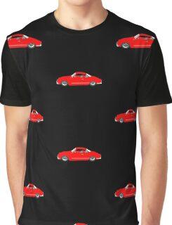 Red Karmann Ghia Graphic T-Shirt