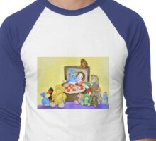 Mime in ToyBox Men's Baseball ¾ T-Shirt