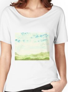 Hills and Valleys Women's Relaxed Fit T-Shirt