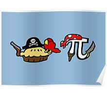Pie and Pi Pirates Poster