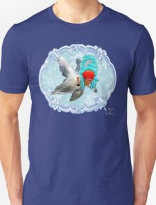 """Mozart and Marie """" A Queen in a Fish Bowl"""" T-Shirt"""