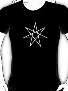 Elven Star, Perfection & Protection, Heptagram,  T-Shirt