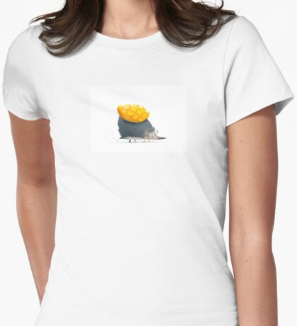 Mango Womens Fitted T-Shirt