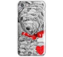 Teddy Bear Heart Equals Love iPhone Case/Skin
