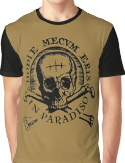 "Uncharted - ""Hodie Mecvm Eris In Paradiso"" Graphic T-Shirt"