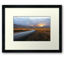 Road to Daybreak Framed Print