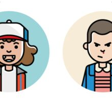 Stranger Things Characters Sticker