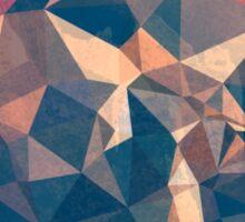 Geometric abstract Sticker