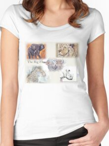 The Big Five Women's Fitted Scoop T-Shirt