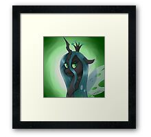 The changeling queen Framed Print