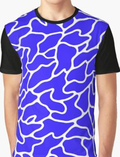Flowing water pattern Graphic T-Shirt