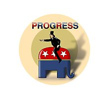 Progress - GOP Style Photographic Print