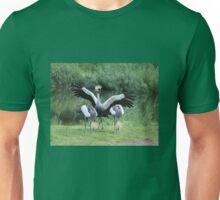 Crowned crane Unisex T-Shirt