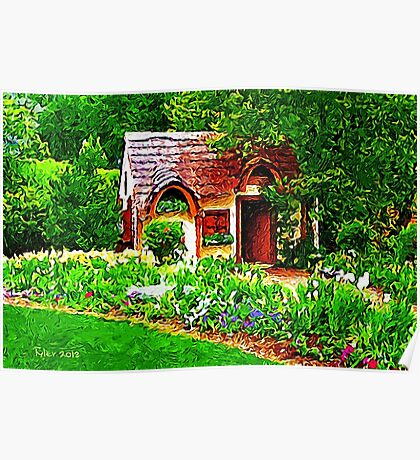 COUNTRY COTTAGE 40D Poster