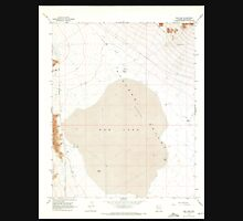 USGS TOPO Map Arizona AZ Red Lake 313057 1968 24000 Unisex T-Shirt