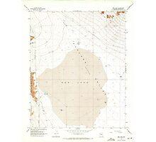USGS TOPO Map Arizona AZ Red Lake 313057 1968 24000 Photographic Print