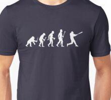 Baseball Evolution Funny T Shirt Unisex T-Shirt