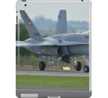 Swiss Air Force F-18 Hornet.... iPad Case/Skin