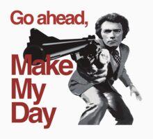 Dirty Harry - Go ahead, make my day! Kids Tee