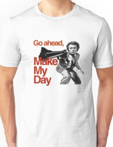Dirty Harry - Go ahead, make my day! Unisex T-Shirt